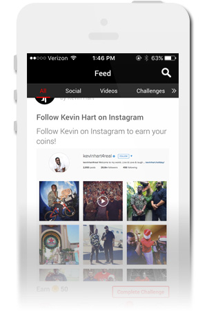 Kevin Hart Official Mobile App for iPhone & Android