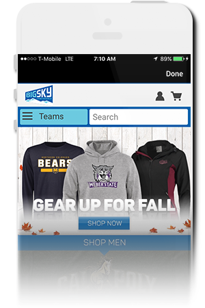 Big Sky Conference Official Mobile App for iPhone & Android