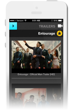 Entourage Official Mobile App for iPhone & Android