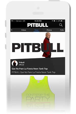 Pitbull Official Mobile App for iPhone & Android