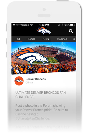 Denver Broncos Orange Herd Official Mobile App for iPhone & Android