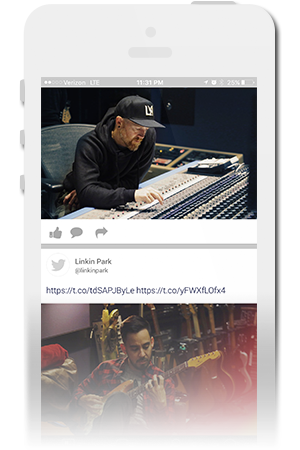 Linkin Park Official Mobile App for iPhone & Android