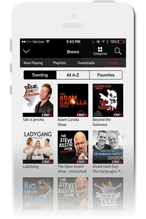 Podcast One Official Mobile App for iPhone & Android