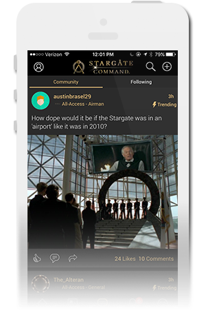Stargate Command | MGM Official Mobile App for iPhone & Android