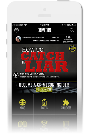 CrimeCon Official Mobile App for iPhone & Android