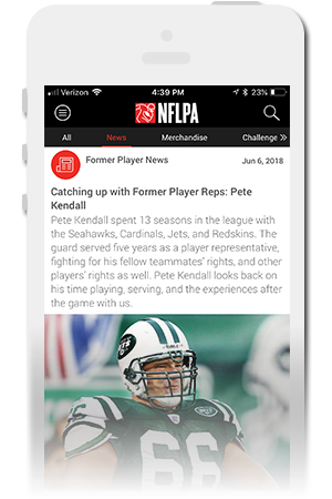 NFLPA Official Mobile App for iPhone & Android