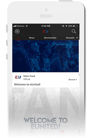 eUnited Official Mobile App for iPhone & Android