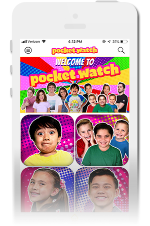PocketWatch Official Mobile App for iPhone & Android