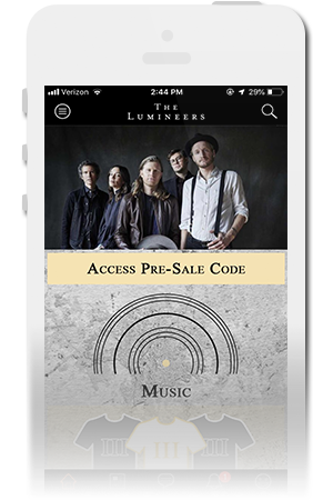 The Lumineers Official Mobile App for iPhone & Android