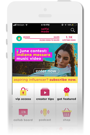 Selfie Made Official Mobile App for iPhone & Android