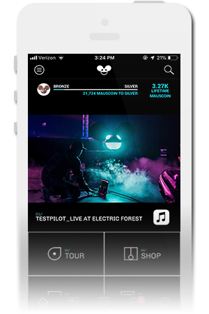 deadmau5 Official Mobile App for iPhone & Android