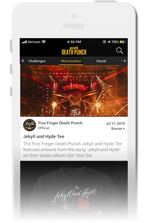 Five Finger Death Punch Official Mobile App for iPhone & Android