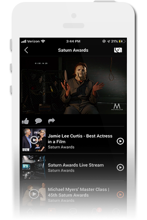 Saturn Awards Official Mobile App for iPhone & Android