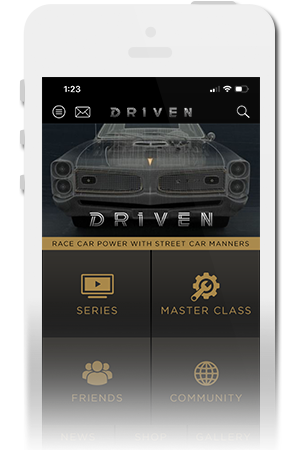 Driven Official Mobile App for iPhone & Android
