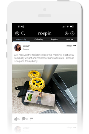 rē · spin by Halle Berry Official Mobile App for iPhone & Android
