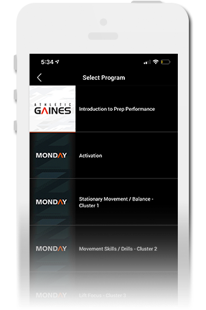 Athletic Gaines Official Mobile App for iPhone & Android