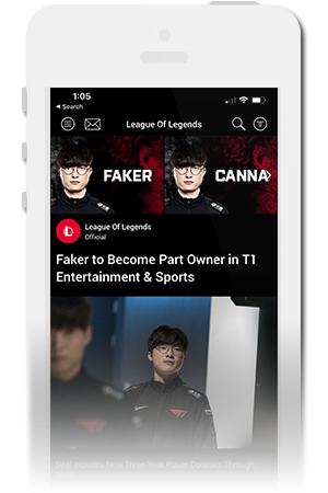 T1 Official Mobile App for iPhone & Android