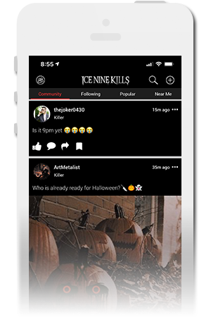 Ice Nine Kills Official Mobile App for iPhone & Android