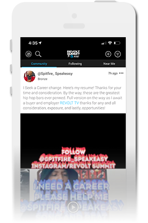 REVOLT Summit Official Mobile App for iPhone & Android