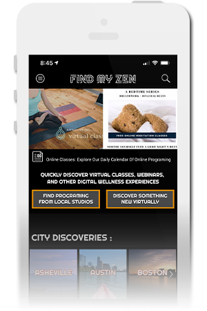 Find My Zen Official Mobile App for iPhone & Android