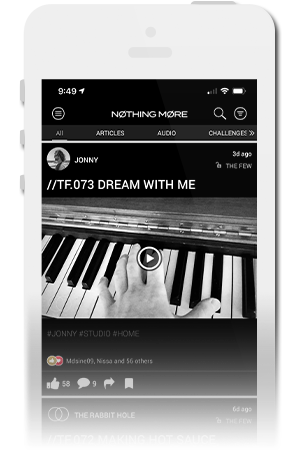 Nothing More Official Mobile App for iPhone & Android