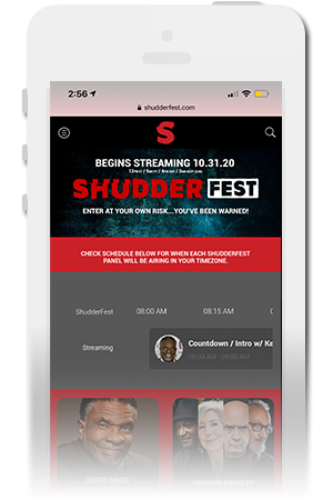 AMC | ShudderFest Official Mobile App for iPhone & Android